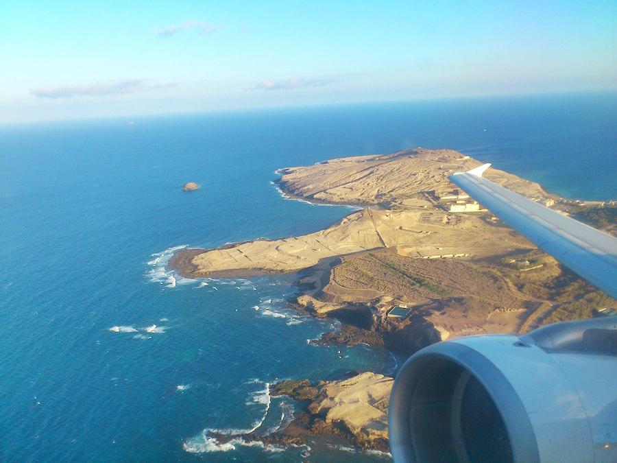 Avión despega del aeropuerto de Gran Canaria. Fotografía: ATCpress